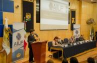 """El V Seminario de la ALIUP """"Desafíos de la Educación Superior en el Desarrollo Humano y la Sociedad"""", estuvo integrado por mesas de trabajo donde participaron directores y académicos de diversas instituciones de Educación Superior de la República Mexicana y de otros países."""