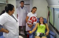 Blood Donation Marathon in Ñemby, Paraguay