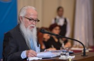"""Educating the heart for the development of the human"", was the central topic of the lecture of Dr. William Soto Santiago, Global Ambassador of the GEAP and President of the Peace Integration Summit, during the Educational Session, CUMIPAZ (Chile 2015)."