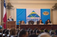 "Dr. William Soto, in his intervention during the Educational Session of CUMIPAZ, expressed that: ""The XXI century demands a change in the objectives of Higher Education, going beyond productivity and competitiveness and academic excellence. Education should, above all, promote the complete development of the human being and a harmonic integration with nature and their equals."""