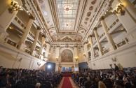 En el marco de la Cumbre de Integración por la paz, hoy 5 de noviembre de 2015 se dio inicio a la Sesión Educativa, donde convergen autoridades de la educación superior de diferentes países de América y Europa para consolidar alianzas a favor de la paz.