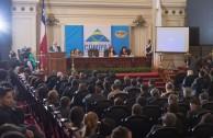 """""""La Educación del Corazón para el desarrollo humano"""" fue el tema central de la Conferencia del Dr. William Soto Santiago, Embajador Mundial de la EMAP y Presidente de la Cumbre de Integración por la Paz, en la Sesión Educativa, CUMIPAZ (Chile 2015)"""