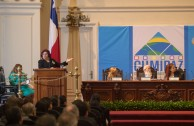 The keynote lectures of Dr. Mirian Estrada, Professor of International Criminal Law at the University for Peace, of the United Nations Organization and Dr. William Soto, CEO of the Embassy of Activists for Peace (GEAP) laid the foundation for the development of the workshops for the Educational Session of CUMIPAZ 2015.