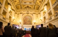 The former National Congress of Chile will be the venue for the Peace Integration Summit that will be held in Santiago.
