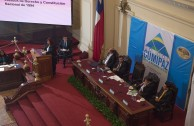 "During the third and last table of the Judicial Session of CUMIPAZ the following topic was discussed: ""The UN and the International Criminal Court: Harmonious interaction, independence or subordination?"""