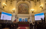 """During the third and last table of the Judicial Session of CUMIPAZ the following topic was discussed: """"The UN and the International Criminal Court: Harmonious interaction, independence or subordination?"""""""