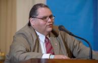 El Magistrado Federal del Poder Judicial de la Federación, Dr. Gonzalo Higinio Carrillo de León disertó sobre el Consejo de Seguridad de la ONU y propuestas para su democratización.