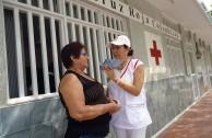 Colombia: Neighbors of La Dorada showed solidarity towards the community in the 6th. International Blood Drive Marathon