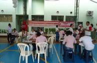 Colombia: Vecinos de La Dorada mostraron solidaridad hacia la colectividad en la 6ta. Maratón Internacional de donación de sangre
