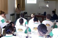 Training the GEAP Volunteers in Tres Arroyos