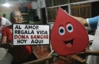 Bolivianos mostraron su solidaridad en la 6ta. Maratón Internacional