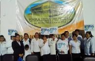 Celebran el Día Internacional de la Paz en Puebla: Globos blancos por la Paz