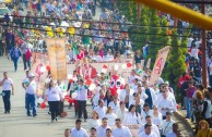 "In Mexico started the 6th International Marathon ""Life is in the Blood"""