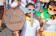 Masaya, Nicaragua celebrates the World Wildlife Day