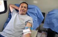 """A través del proyecto """"En la Sangre está la Vida"""" Mexicanos continúan dando vida en la 6ta. Maratón Internacional"""