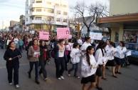 """En Argentina, la EMAP apoyó la marcha nacional """"Ni una Menos"""""""