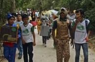 Los guardianes por la paz de la madre Tierra se unen a la celebración del  día mundial de la vida silvestre