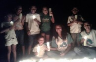 Volunteers from the GEAP in different countries join EARTH HOUR