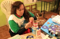 Voluntarios en preparativos a la celebración del día del agua y de los bosques para el 21 y 22 de Marzo