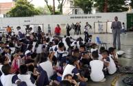 Estudiantes de Yumbo-Valle reflexionaron sobre la importancia de una educación Centrada en valores y principios