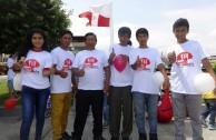 Habitantes de Moro en Perú demostraron solidaridad por sus semejantes