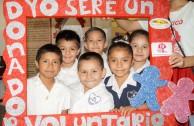 Por una Cultura de Donación de Sangre en la Educación Primaria - Torreón, México