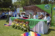 Los Hijos de la Madre Tierra de El Salvador celebraron con ceremonias, danzas y cantos el Día Mundial de la Madre Tierra