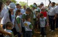 The Children of Mother Earth in El Salvador celebrated International Mother Earth Day with ceremonies, dances and songs