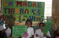 Guardianes por la paz de la Madre Tierra de Nicaragua sembraron 200 árboles