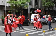 """Voluntarios de la EMAP en Argentina promueven el Programa Integral """"En la Sangre está la Vida"""""""