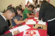 Activists for peace carry out blood drives in Monterrey