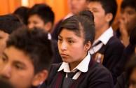 Colegio Héroes de Breña de Huancayo recibió el programa Educar para Recordar