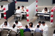 Future Mexican doctors contribute towards a blood donation culture