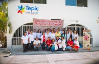 7th International Marathon came to the Tepic Nayarit Public Health Office