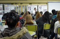 200 students attend a talk about the Holocaust given by GEAP volunteers