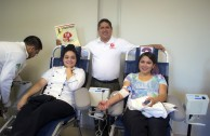 """Life is in the Blood"" encourages a culture of voluntary donation in Ciudad Juárez"