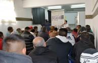 La EMAP lleva la Muestra del Holocausto a la Penitenciaria de Sierra Chica en Olavarría