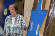 """New Mexico pays homage to Holocaust survivors as part of the Project """"Traces to Remember."""""""