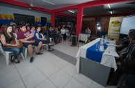 """Franz Tamayo University (UNIFRANZ) and the Cumbre University in Santa Cruz, Bolivia, opens their doors to the Project """"Educating to Remember"""""""