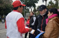 7 Argentinian cities spread the 7th International Blood Drive Marathon