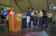 First edition of recognitions on behalf of the GEAP to regular, voluntary and altruistic blood donors in Venezuela