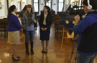 Ciudadanos argentinos reciben proyectos educativos de la EMAP