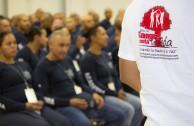 Cadetes de Academia de Policía de Ciudad Juárez donaron la savia de la vida