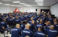 Police Academy Cadets from Ciudad Juárez donated the sap of life