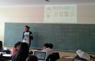 Charlas de las 5Rs brindadas a alumnos de escuela en la Ciudad Feliz