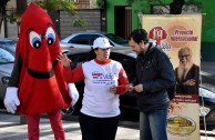 """The Seventh Marathon """"Life is in the Blood"""" began in Argentina"""