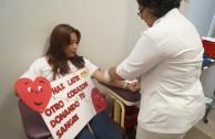 Voluntarios de la EMAP estimulan la donación de sangre en Puebla y Veracruz