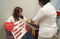 Volunteers of the GEAP stimulate the blood donation in Puebla and Veracruz