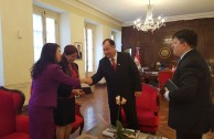 Vice President of Paraguay receives the official invitation to CUMIPAZ-2016
