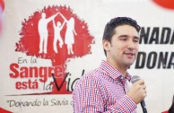 En Guatemala fue destacada la labor altruista de los héroes anónimos en la celebración mundial del 14 de junio